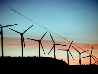 Energia eolica domestica foto ed immagini