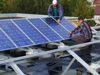 Installazione dei pannelli fotovoltaici