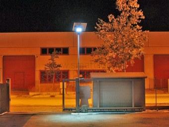 Lampioni fotovoltaici foto ed immagini