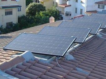 Pannelli fotovoltaici foto ed immagini