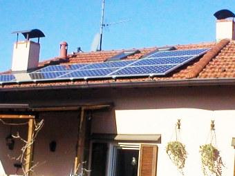 Pannelli fotovoltaici grandine