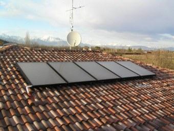 Solare termico foto ed immagini