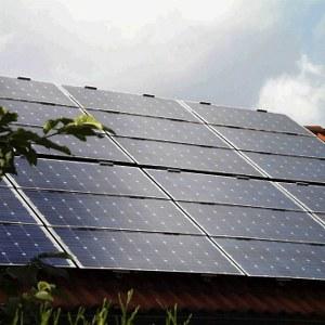 Pannelli fotovoltaici immagini
