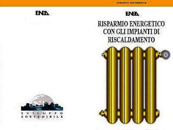 Risparmio energetico riscaldamento